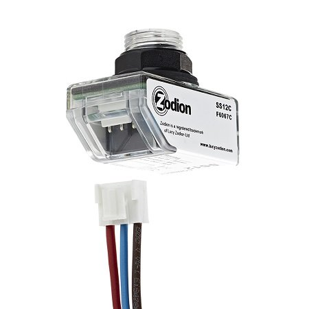 Zodion miniature SS12a photocell with connect attchment