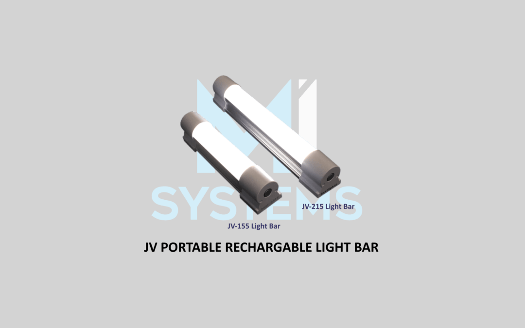 NEW PRODUCT: JV Portable Rechargeable Light Bar